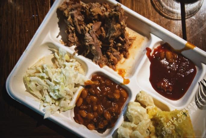 Sample plate at Greenville Food Festival | Kita Roberts