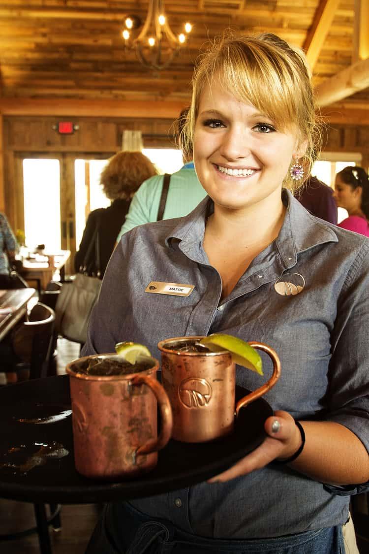Moscow mules at Greenville food festival | Kita Roberts