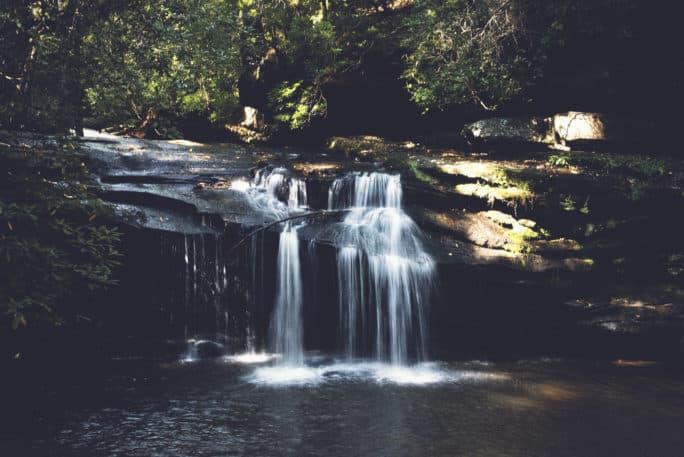 Waterfall in Greenville | Kita Roberts