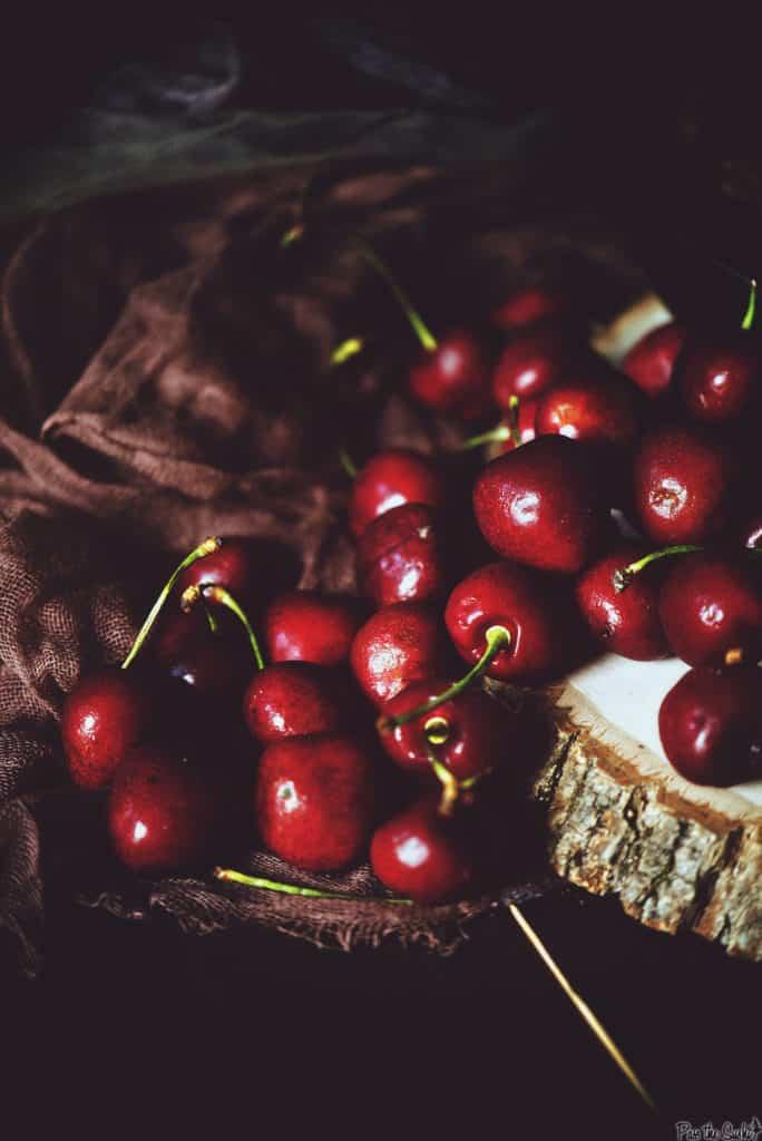 Campfire No Bake Cherry Crisp | Kita Roberts PassTheSushi.com
