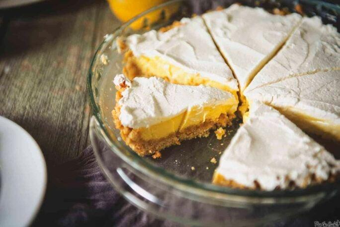 North Carolina Lemon Pie Recipe | Kita Roberts PassTheSushi com