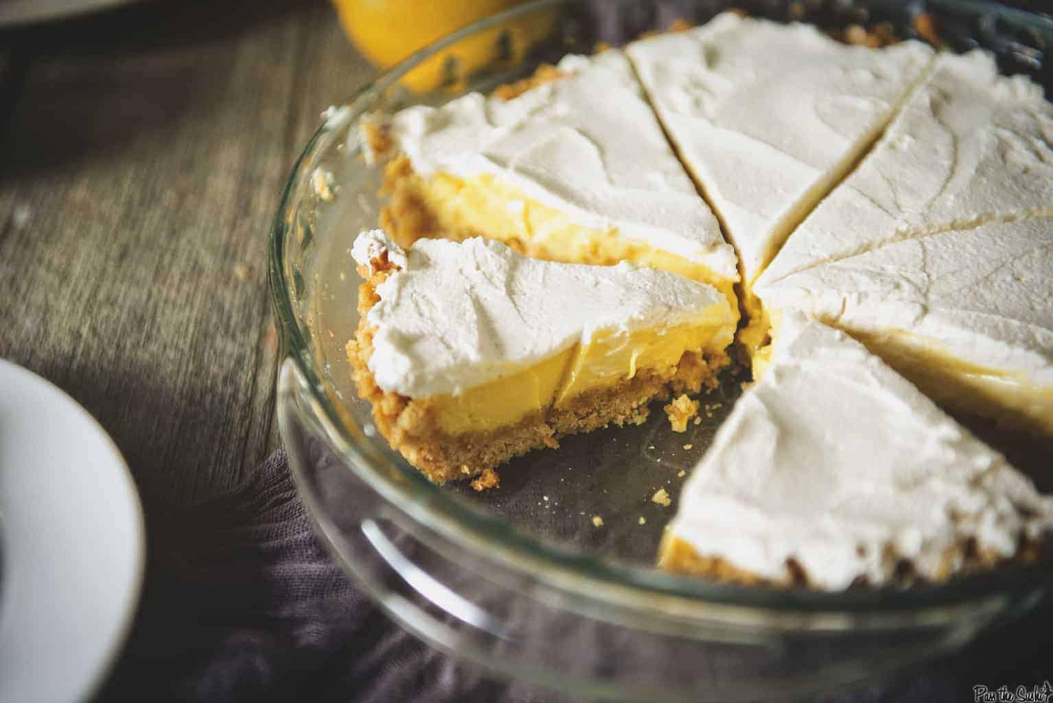 North Carolina Lemon Pie | Kita Roberts PassTheSushi.com