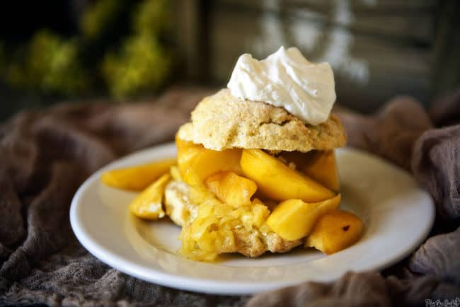 Peach Shortcakes   PasstheSushi