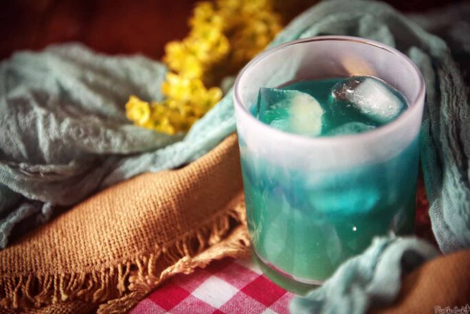 Blue Whale Cocktail Recipe | Kita Roberts PassTheSushi