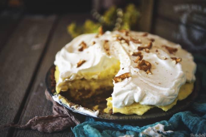 Homemade Banana Cream Pie | Kita Roberts PassTheSushi.com