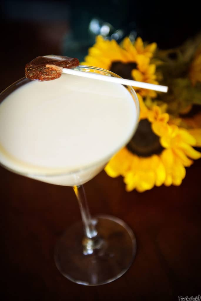 Lemon Cake Cocktail Recipe | Kita Roberts PassTheSushi.com