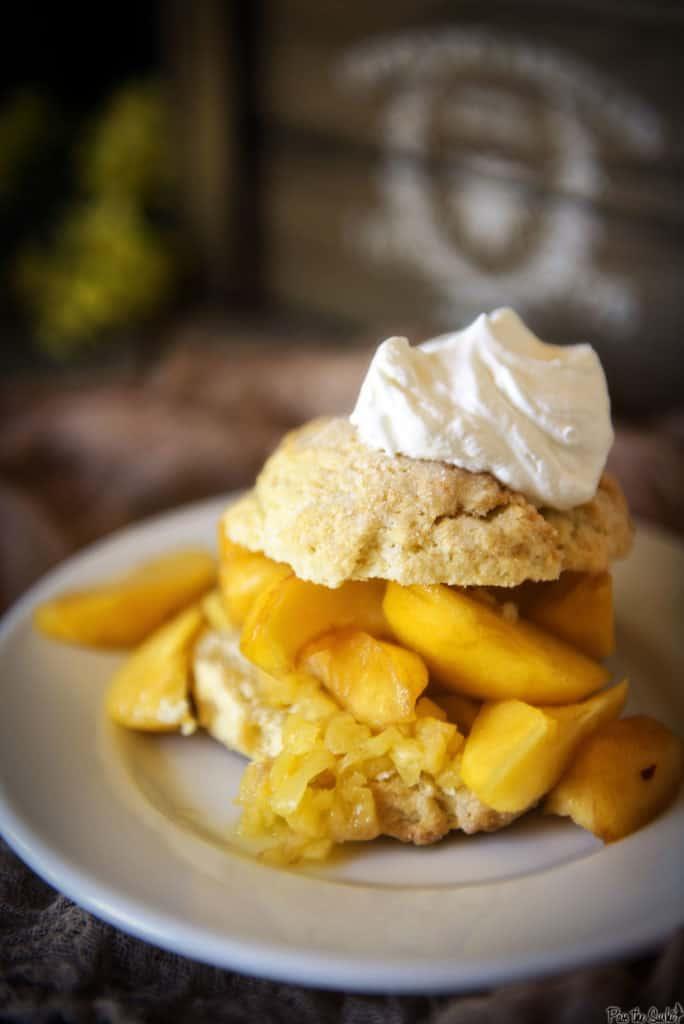 Peach Shortcakes   Kita Roberts PassTheSushi.com