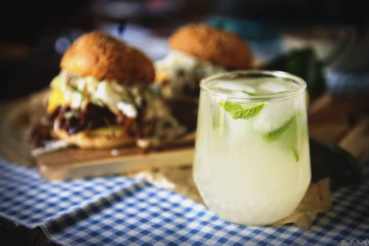 Pineapple Coconut Mojito Cocktail Recipe