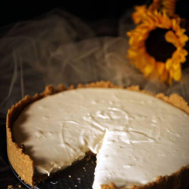 No Bake Cheesecake | Kita Roberts PassTheSushi.com