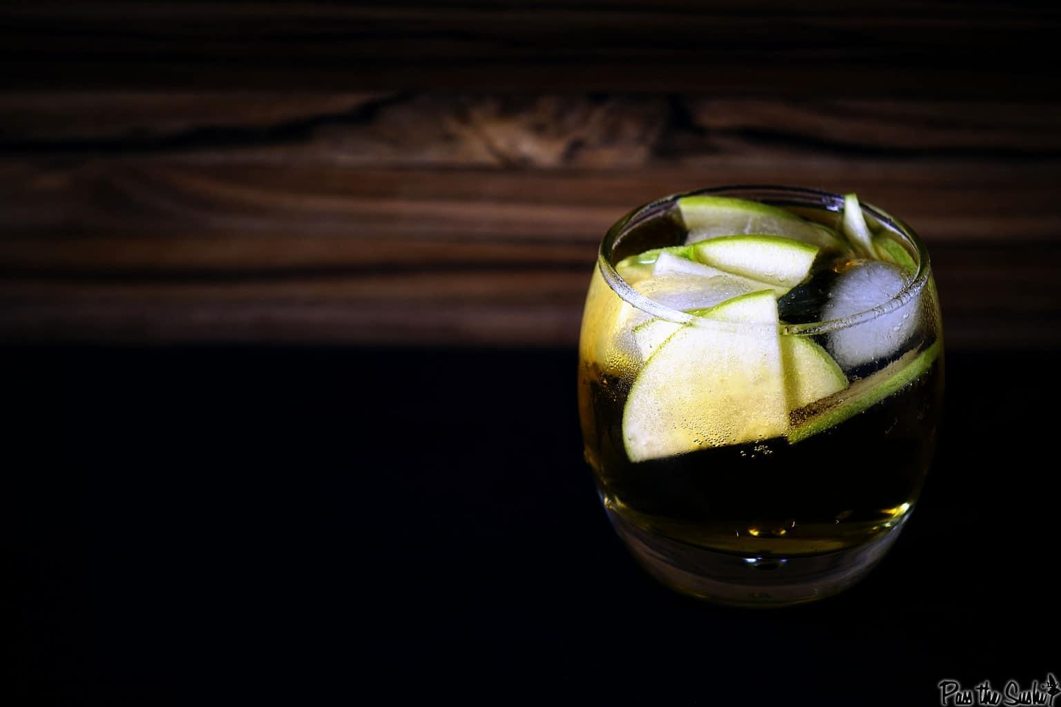 Autumn Stone Fence Cocktail Recipe | Kita Roberts PassTheSushi.com