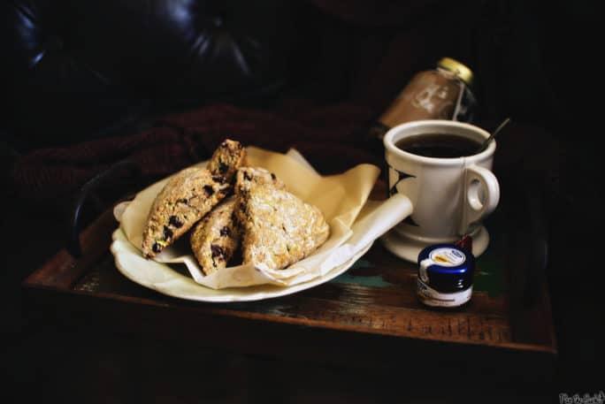 Chocolate Chip Zucchini Scones   Kita Roberts PassTheSushi