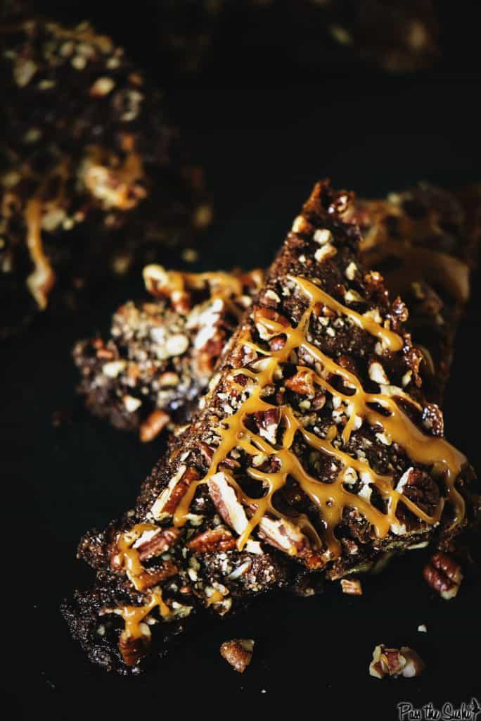 Quick Turtle Brownie Recipe   Kita Roberts PassTheSushi.com