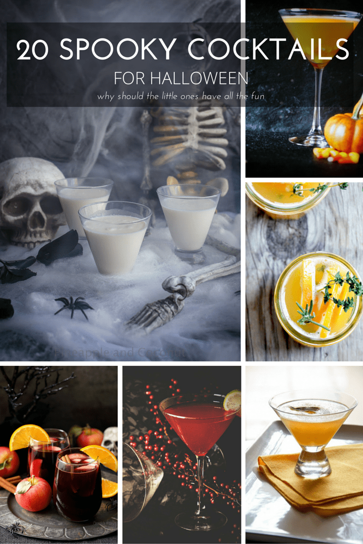 20 Spooky Cocktails for Halloween
