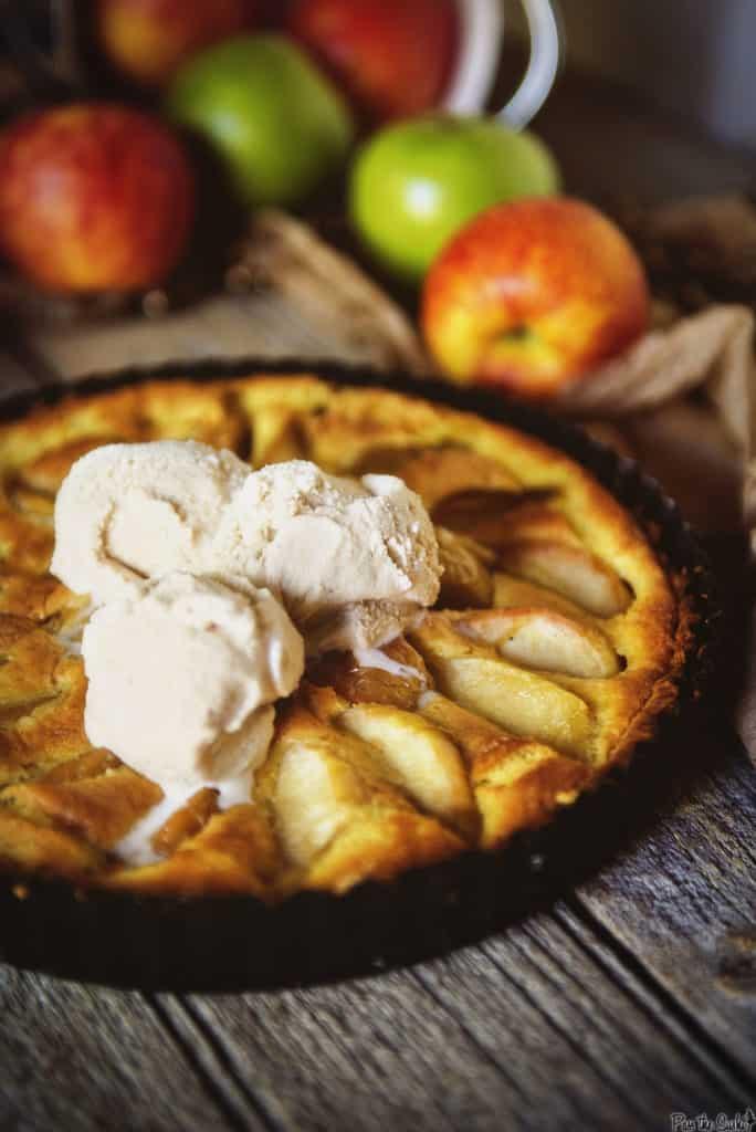 Apple and Browned Butter Custard Tart   Kita Roberts PassTheSushi.com