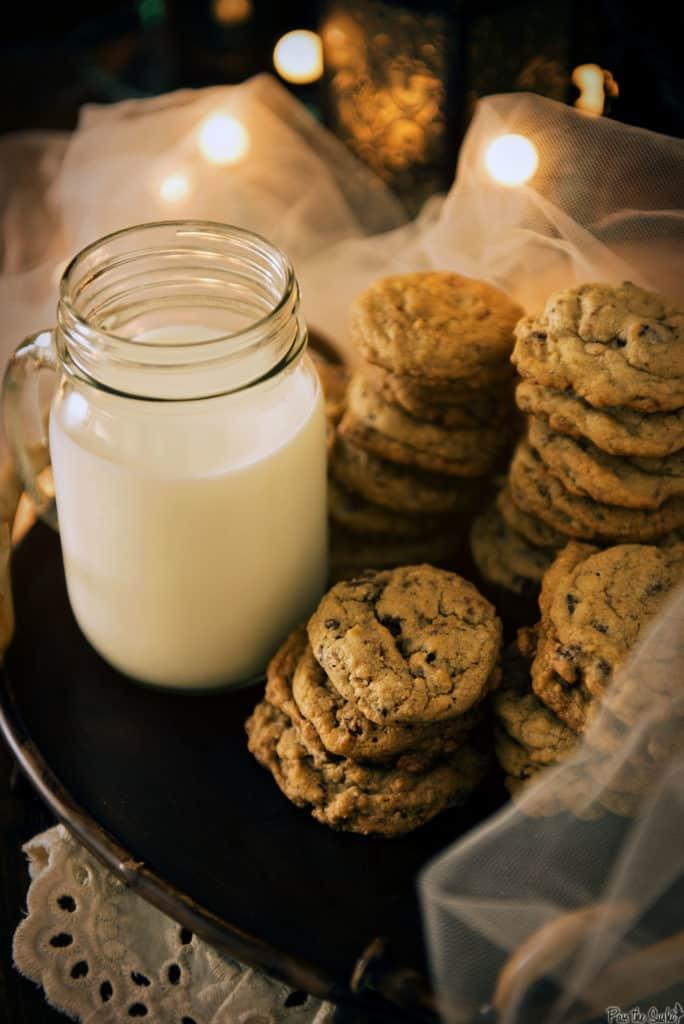 Chocolate Chip Granola Cookie Recipe | Kita Roberts PassTheSushi