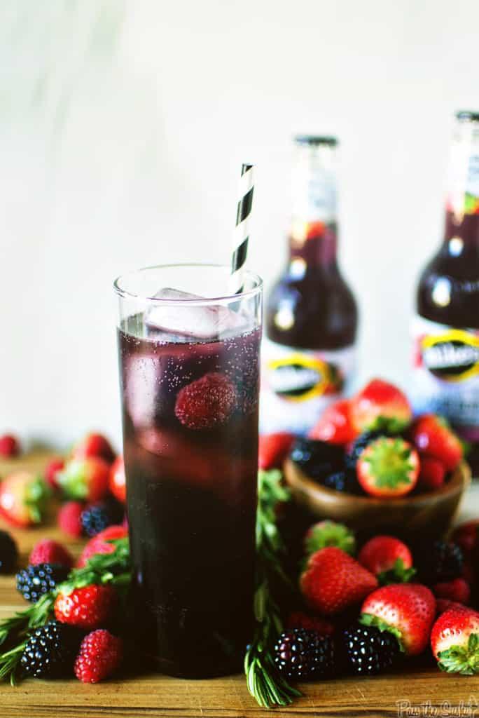 Glacier Berry Cocktail | Kita Roberts PassTheSushi.com