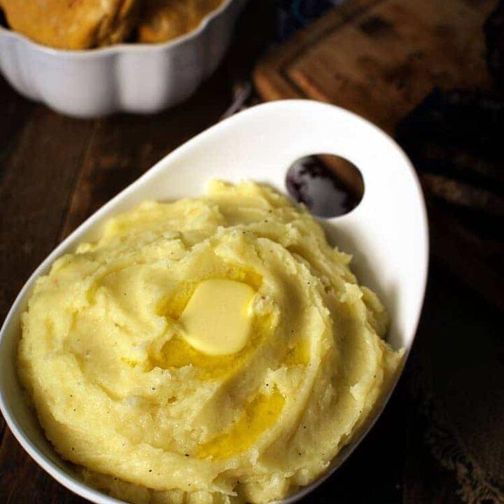 Mama's Mashed Potatoes Recipe | Kita Roberts PassTheSushi.com
