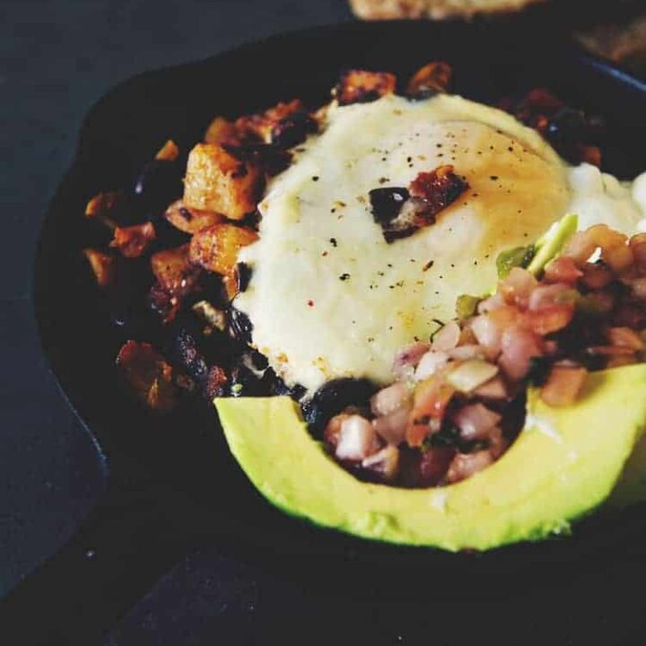 Spicy Tex-Mex Hash Browns with Eggs