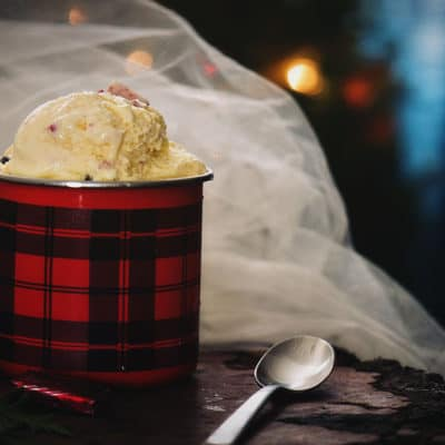 Creamy Peppermint & Dark Chocolate Chip Gelato Recipe