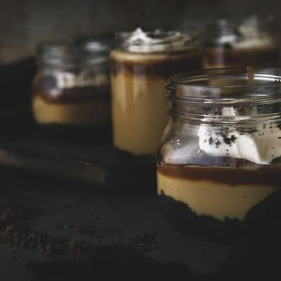 Salted Caramel Budino | AKA Italian Pudding