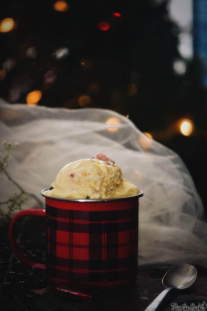 Creamy Peppermint & Dark Chocolate Chip Gelato Recipe | Kita Roberts PassTheSushi.com