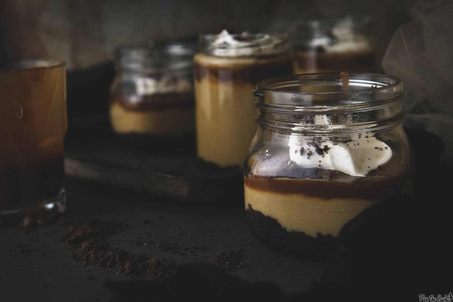 Salted Caramel Budino | AKA Italian Pudding | Kita Roberts PassTheSushi.com