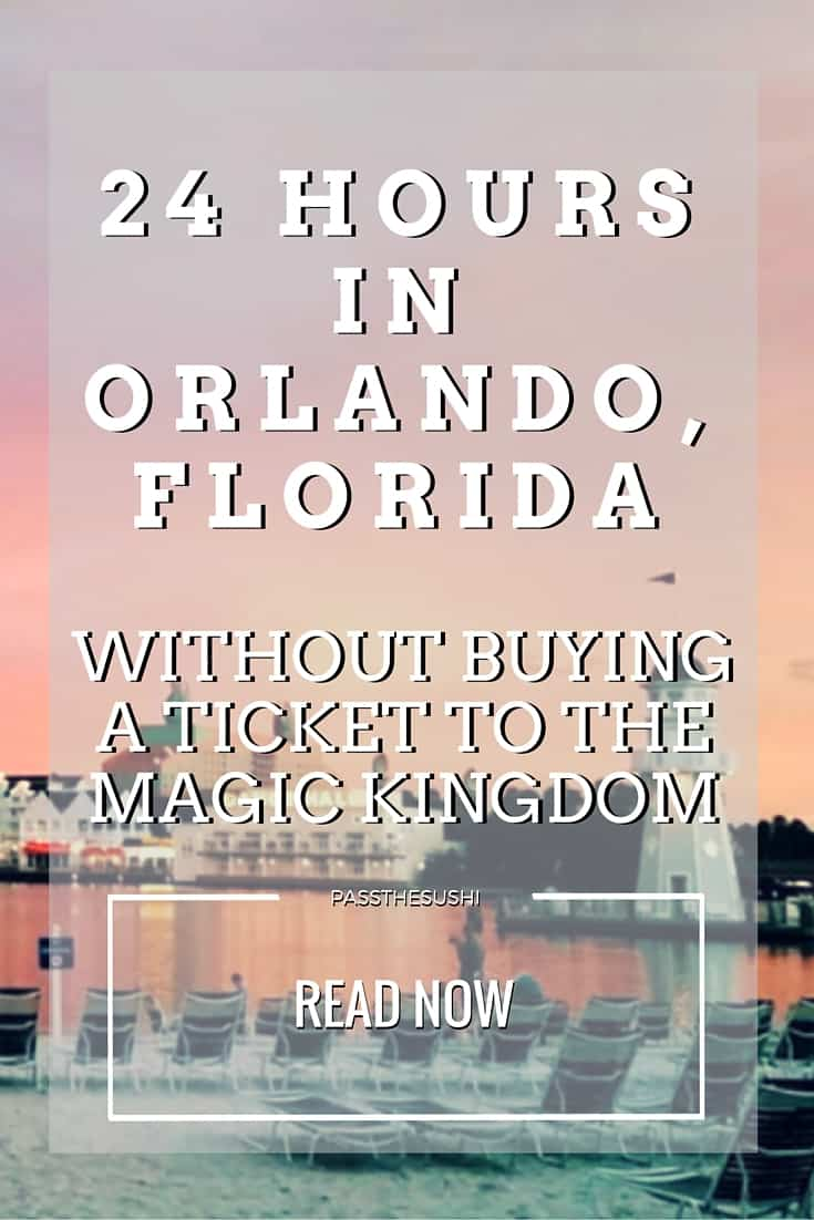 Think it's possible to go to Orlando Florida and not spend big bucks on Disney? It is - and I had a blast! This is how to spend 24 Hours of Fun in Orlando without Buying a Ticket to the Magic Kingdom