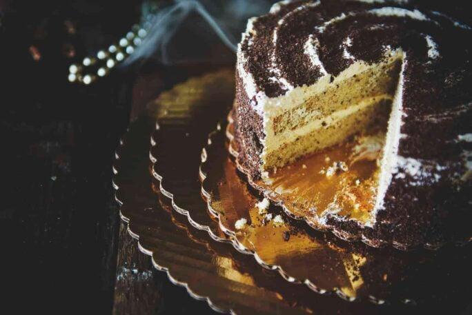 Homemade Hazelnut Cake with Marshmallow Frosting   Kita Roberts PassTheSushi