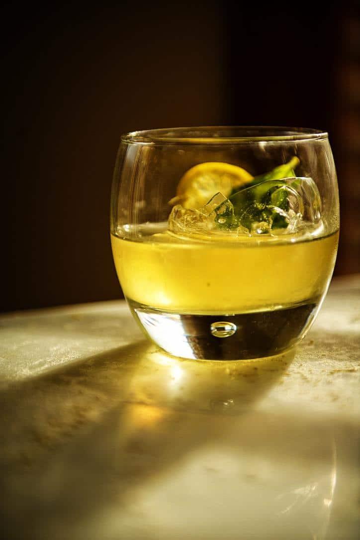 Mint Infused Lemon Drop Cocktail | Kita Roberts PassTheSushi.com