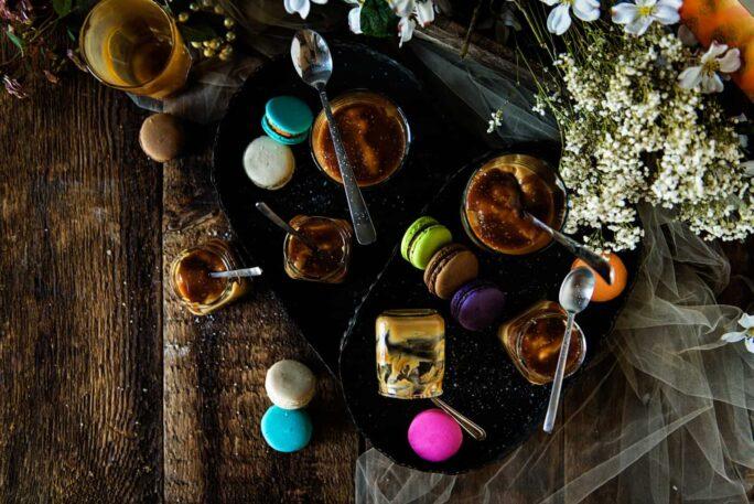 Salted Caramel Butterscotch Pudding Recipe | Kita Roberts PassTheSushi.com