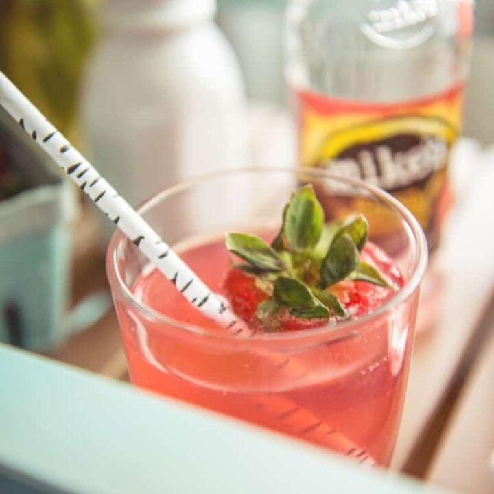 Mike's Hard Strawberry Lemonade Spritzer Recipe