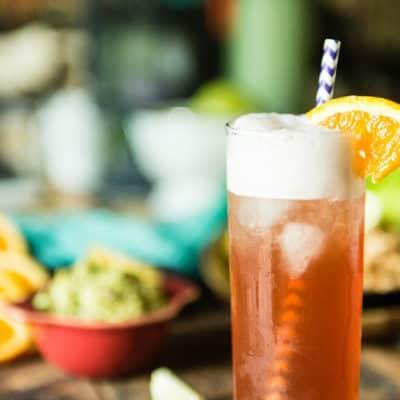 Vanilla Sea Breeze Cocktail