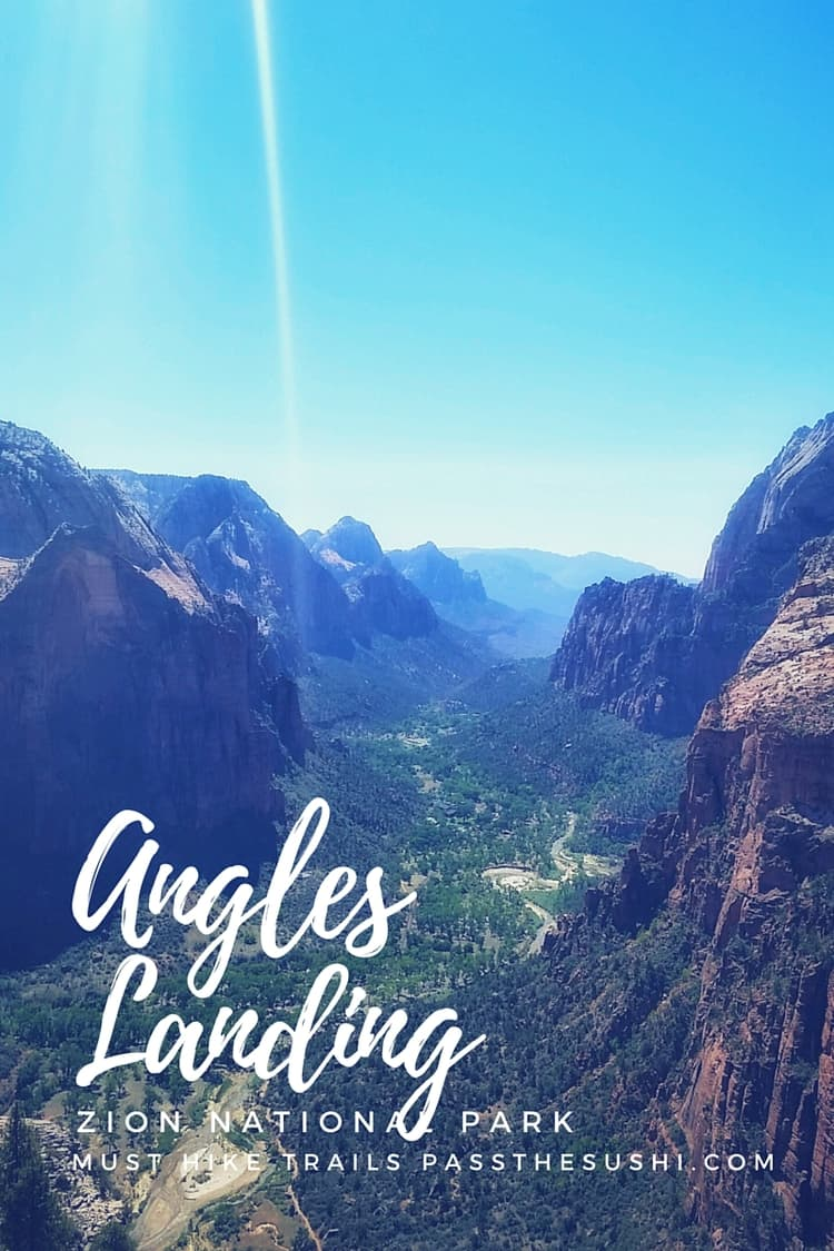 3 Must Hike Trails of Zion National Park | PasstheSushi.com