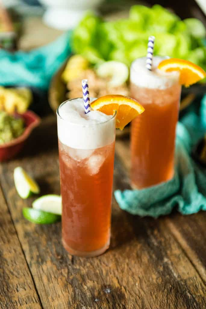 Vanilla Sea Breeze Cocktail | Kita Roberts PassTheSushi.com