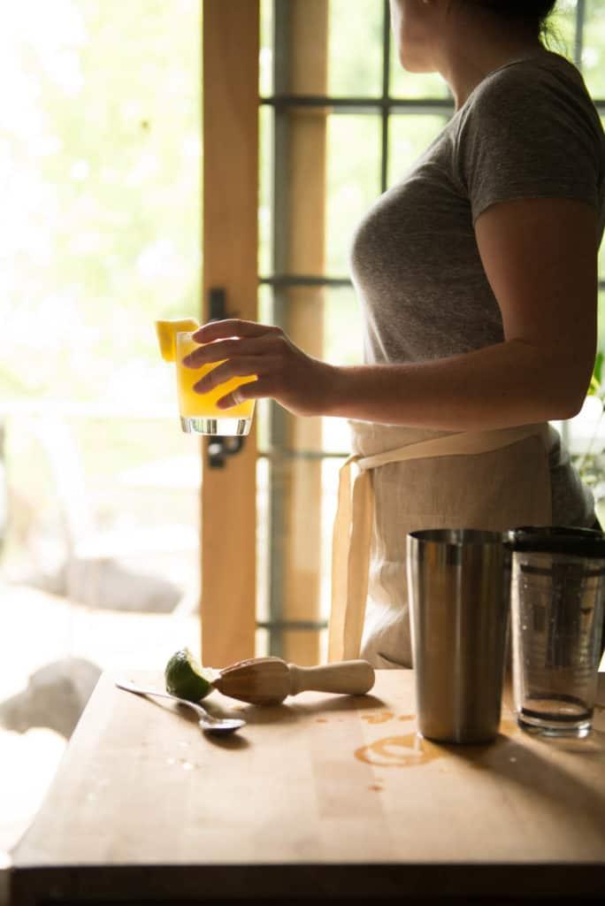 5 Ingredient Pineapple Margarita | Kita Roberts PassTheSushi.com