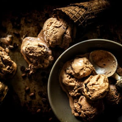 Spiked & Spicy Mexican Mocha Ice Cream Recipe