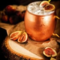 Muddled Fig Moscow Mule