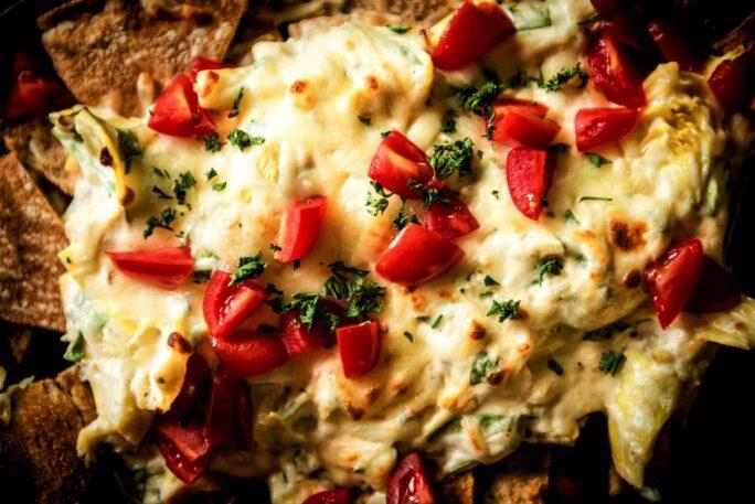 Dogfish Head Spinach Artichoke Beer Cheese Dip | Kita Roberts PassTheSushi.com