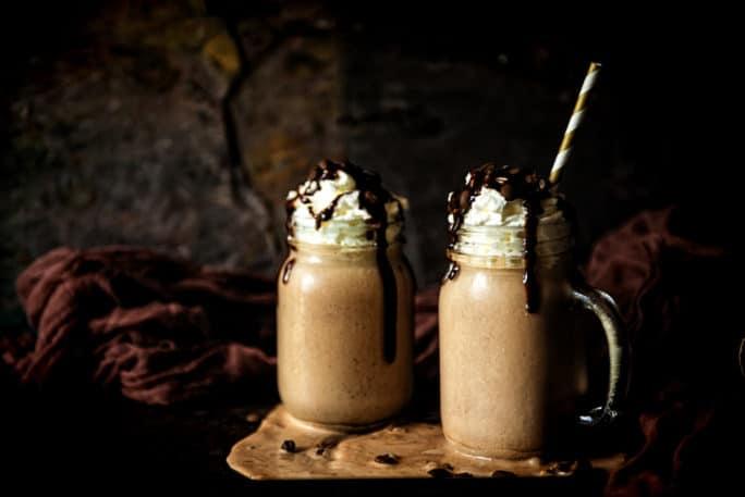 Spiked Mexican Chocolate Milkshake | Kita Roberts PassTheSushi.com