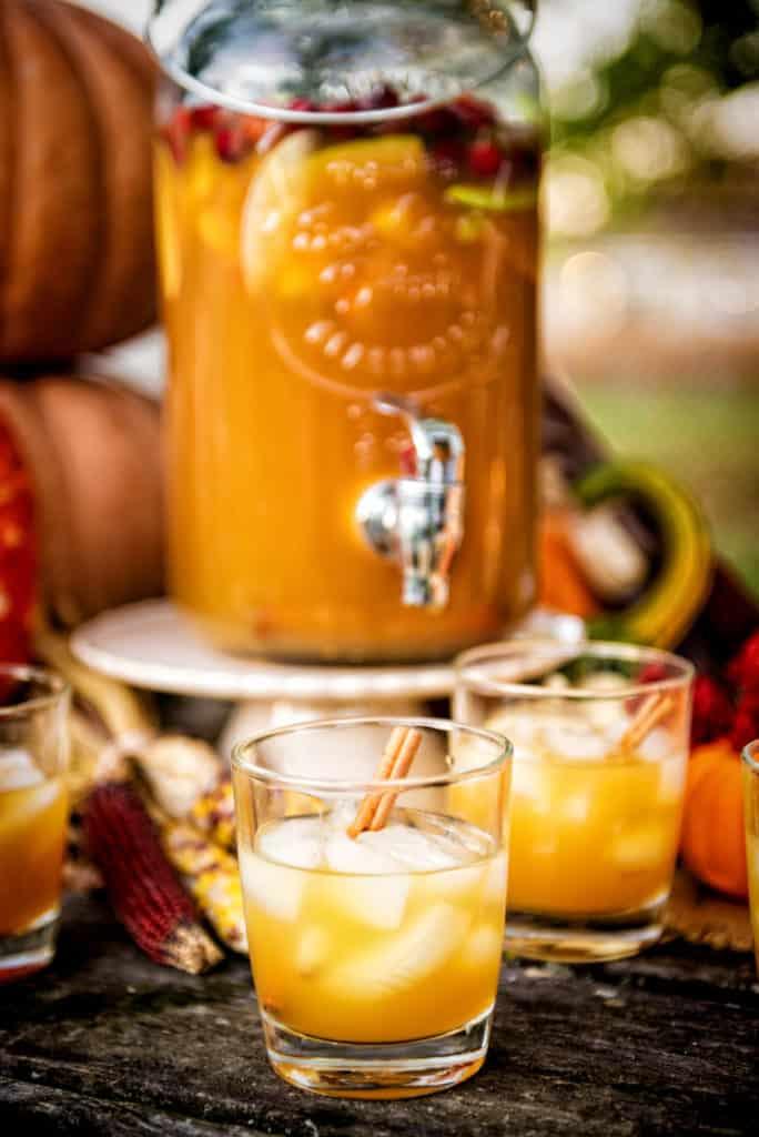 Autumn Harvest Sangria | Kita Roberts PassTheSushi.com