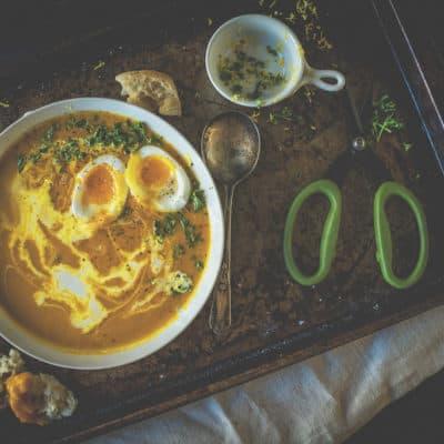 Creamy Carrot Soup Recipe