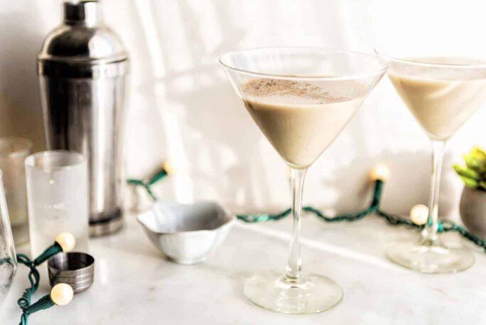 Baileys Pumpkin Vanilla Silk Martini | Kita Roberts PassTheSushi.com