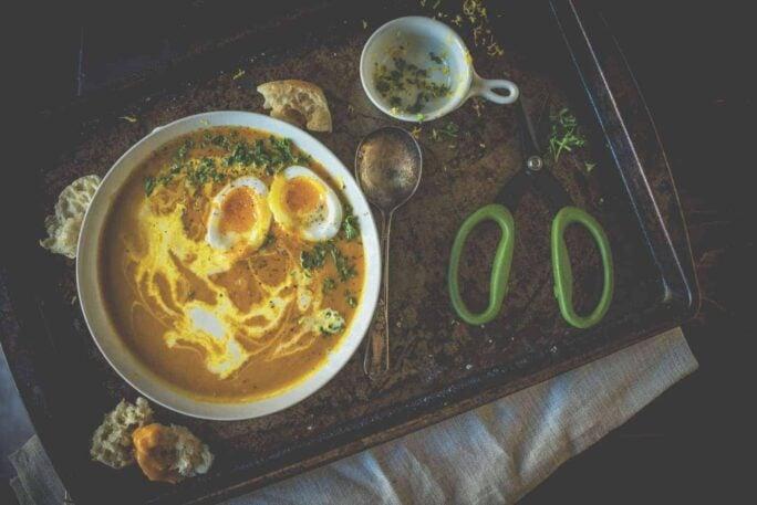 Creamy Carrot Soup Recipe   Kita Roberts PassTheSushi.com