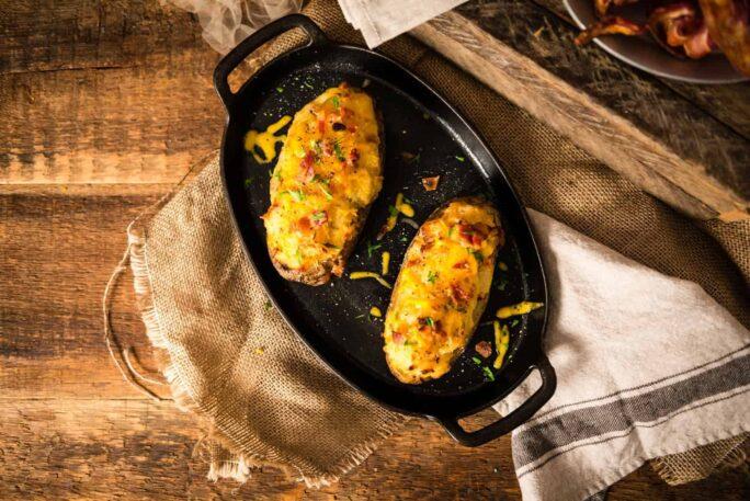 Twice Baked Potatoes with Bacon   Kita Roberts PassTheSushi.com