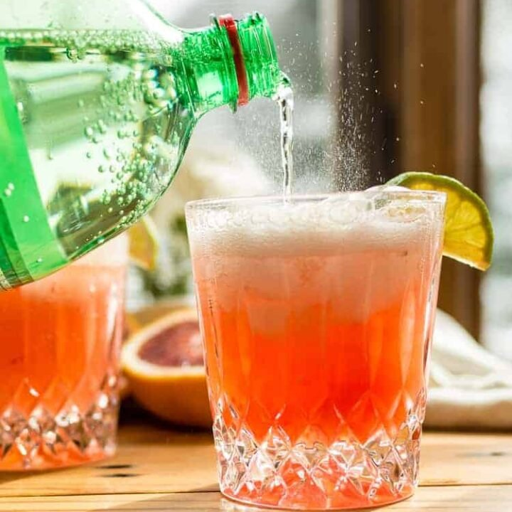 Blood Orange Paloma Spritzer | Kita Roberts PassTheSushi
