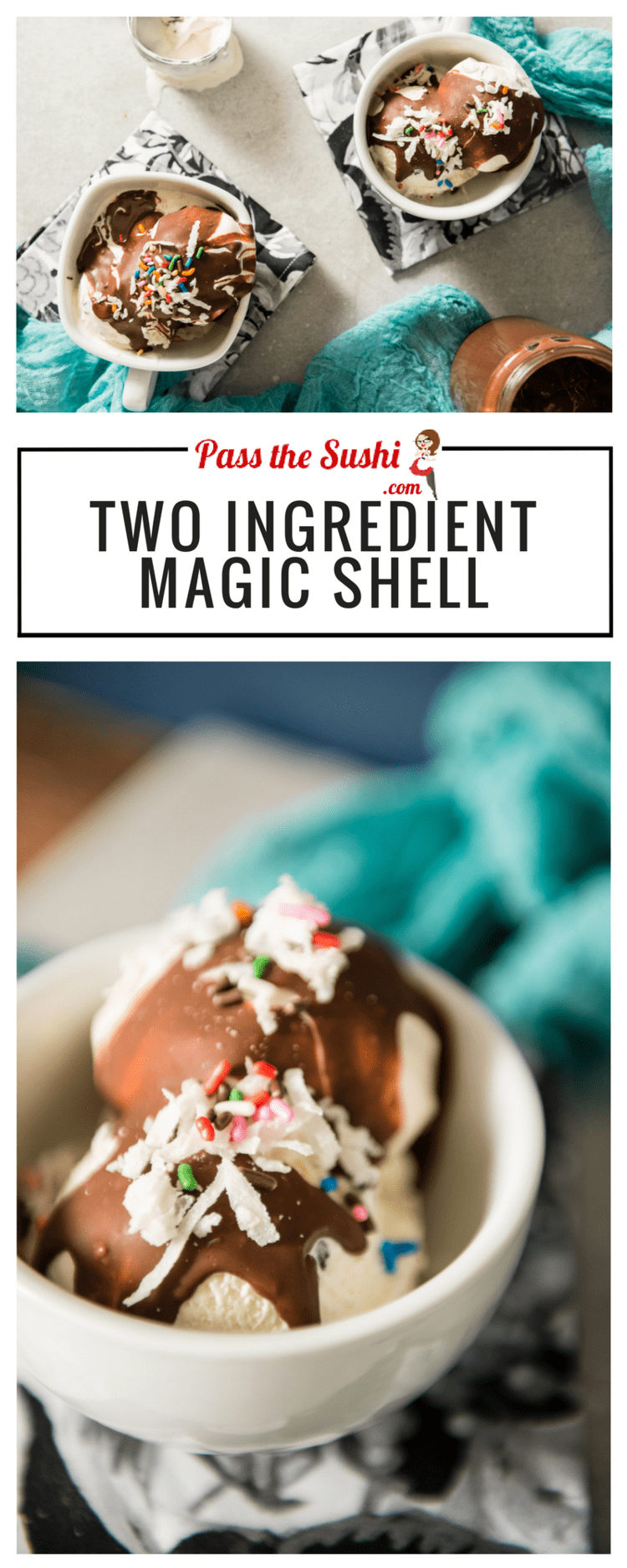 Two Ingredient Magic Shell