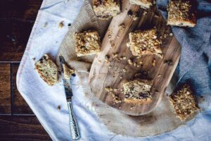 Chocolate Chip Banana Bread Coffee Cake | Kita Roberts PassTheSushi.com