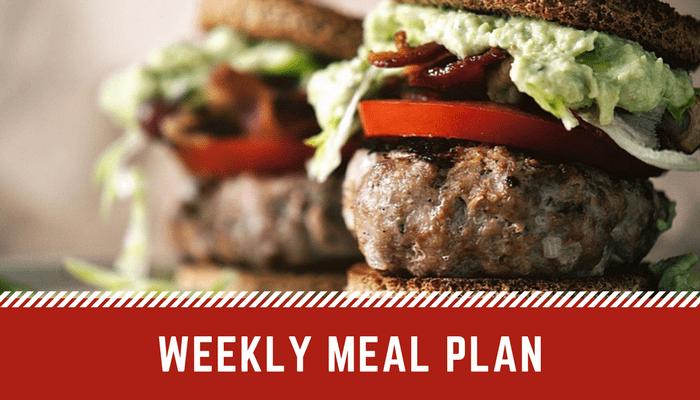 Weekly Menu | Easy Weekly Meal Plan