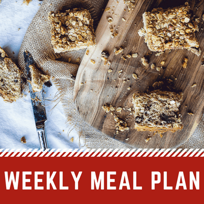Easy Weekly Meal Plan | Weekly Menu Plan