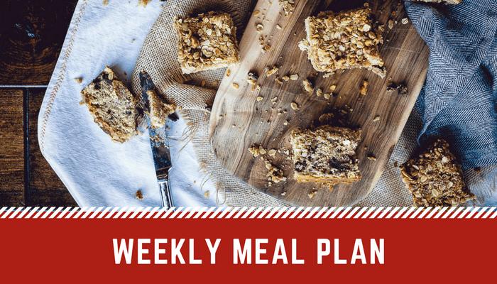 Easy Weekly Meal Plan | Weekly Menu Plan